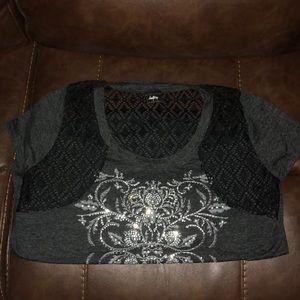 Daytrip Tops - Daytrip Bling Shirt